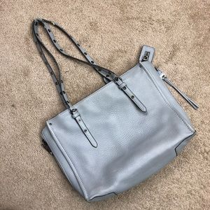Henri Bendel Gray shoulder handbag